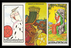 Queen of Pentacles Card Meaning