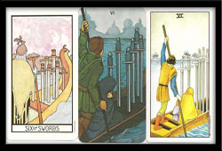 Six of Swords Card Meaning