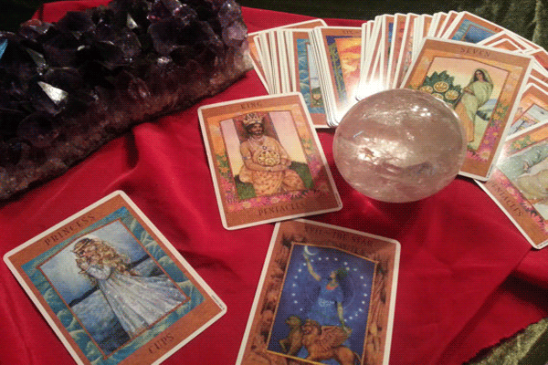 Three of Staves Yes or No Goddess Tarot - What Do You Need