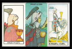 Knight of Cups and the Chariot Meanings