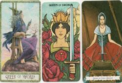 Queen of Swords Card Meaning