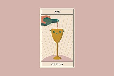 interpreting ace of cups tarot card