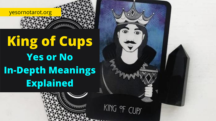 king of cups yes no meaning