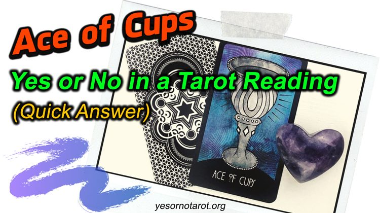 ace of cups yes no meanings
