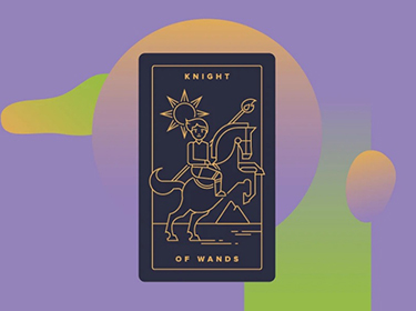 general meaning of knight of wands
