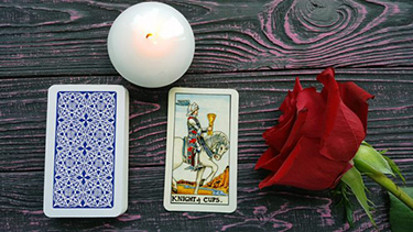 general meanings of knight of cups