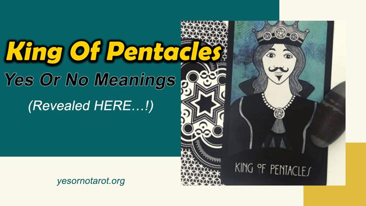 king of pentacles tarot reading