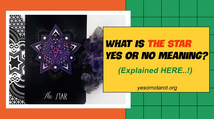 the star yes no meanings