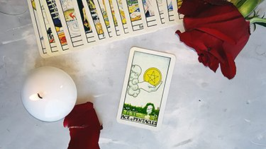 interpreting ace of pentacles in readings