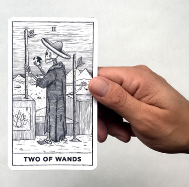 general meaning of two of wands